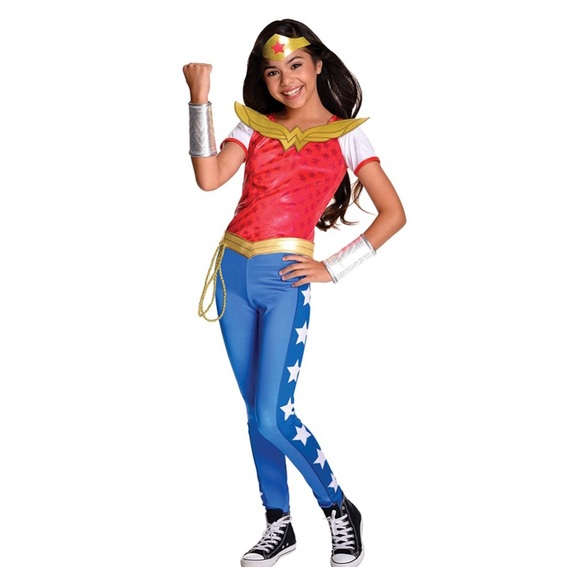 {girls} DC Super Hero Girls Wonder Woman Costume